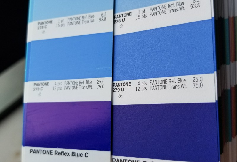 Design for Blue not Purple