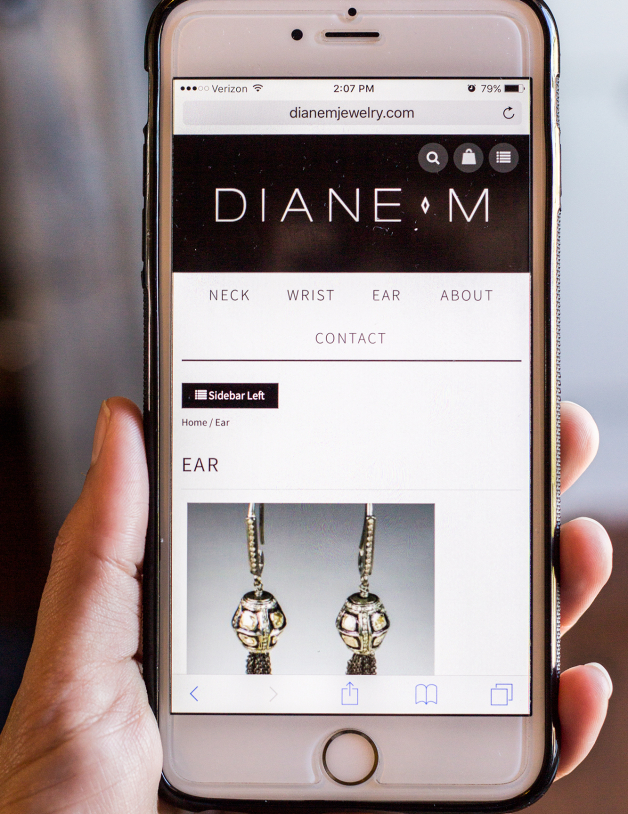 Fine Jewelry Website Monte