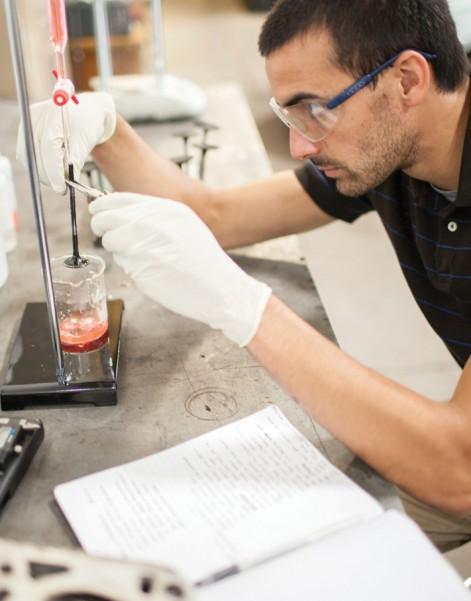 engineering laboratory photography