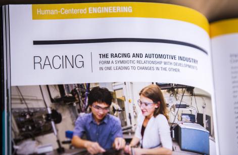 college report design