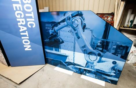 monte tradeshow technology graphics