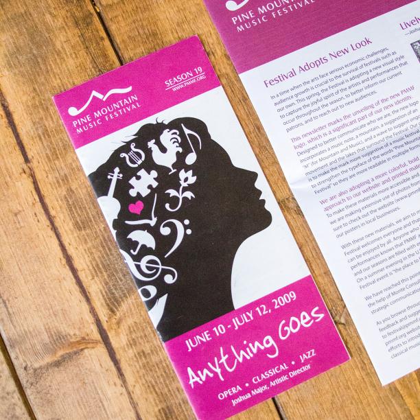 brochure and logo design