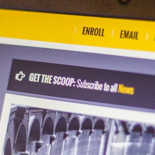 social media app newsletter signup