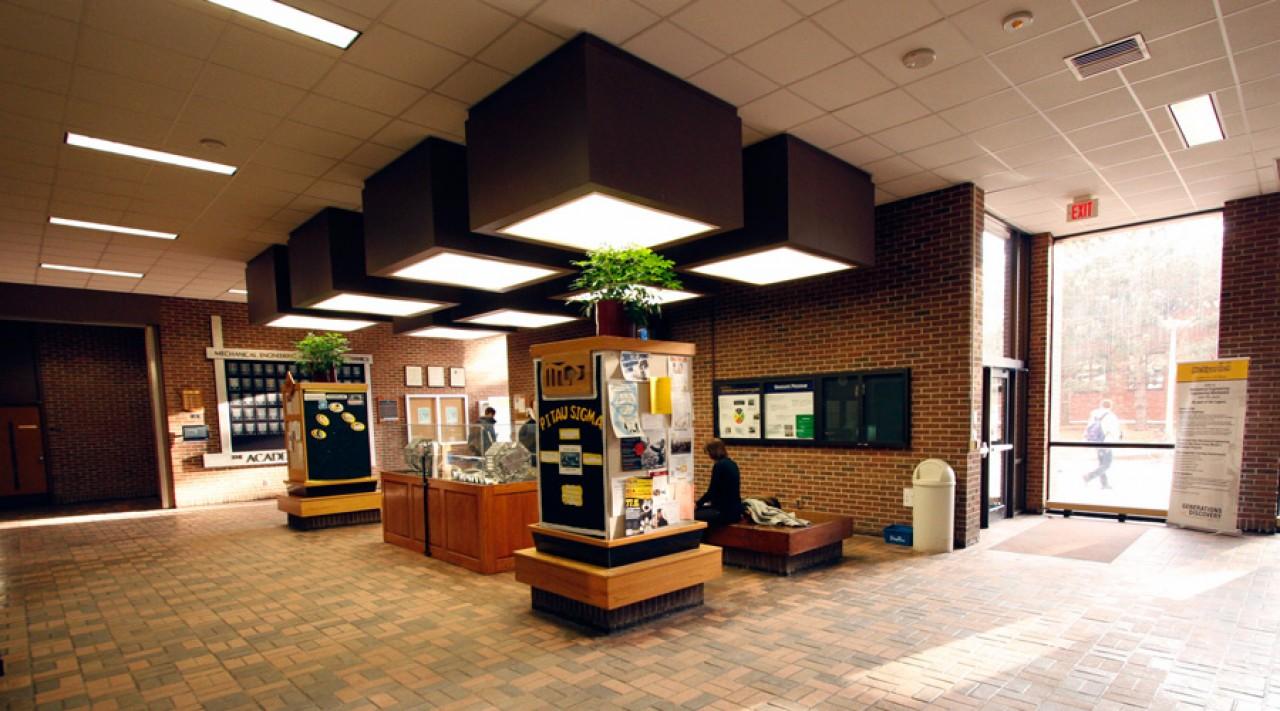 lobby before