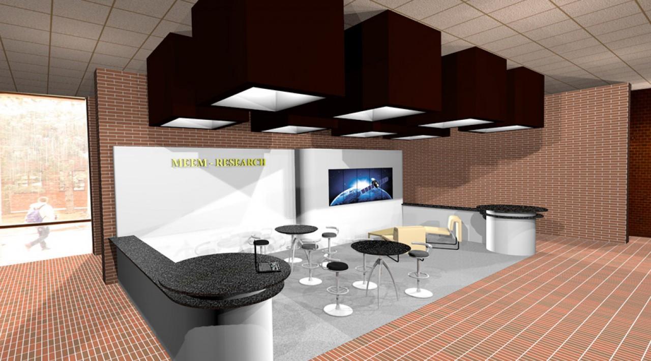 branded lobby spaces