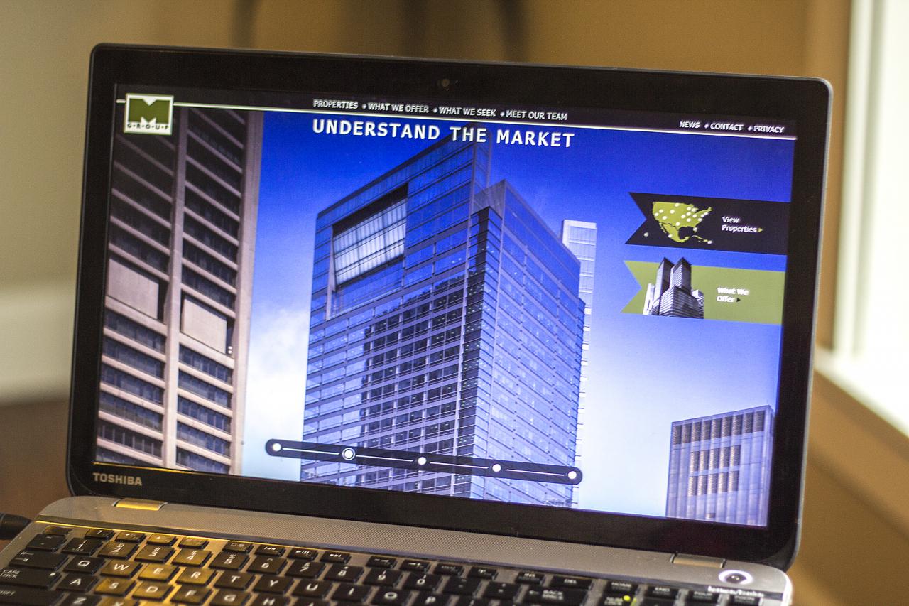 map technology website
