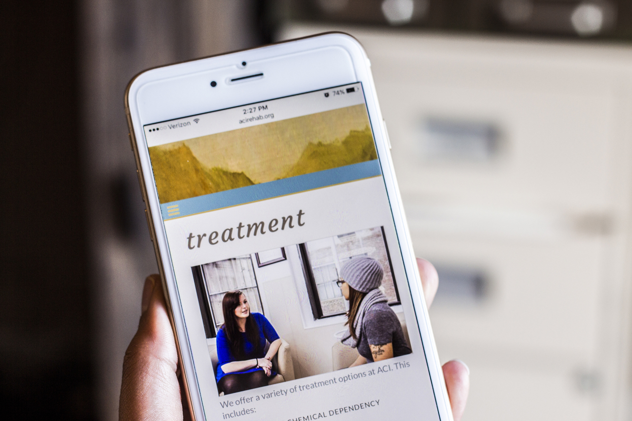 responsive healthcare web design