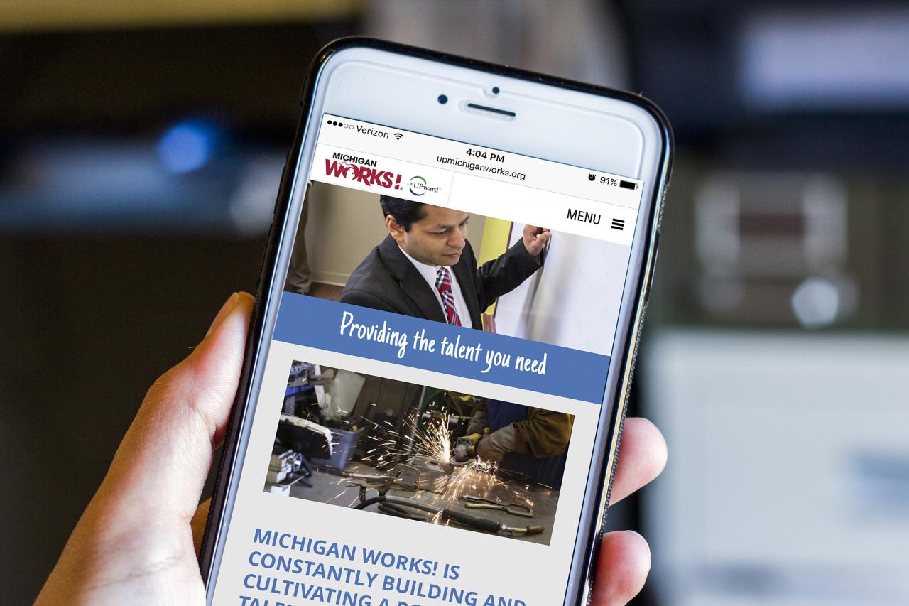 michigan works website