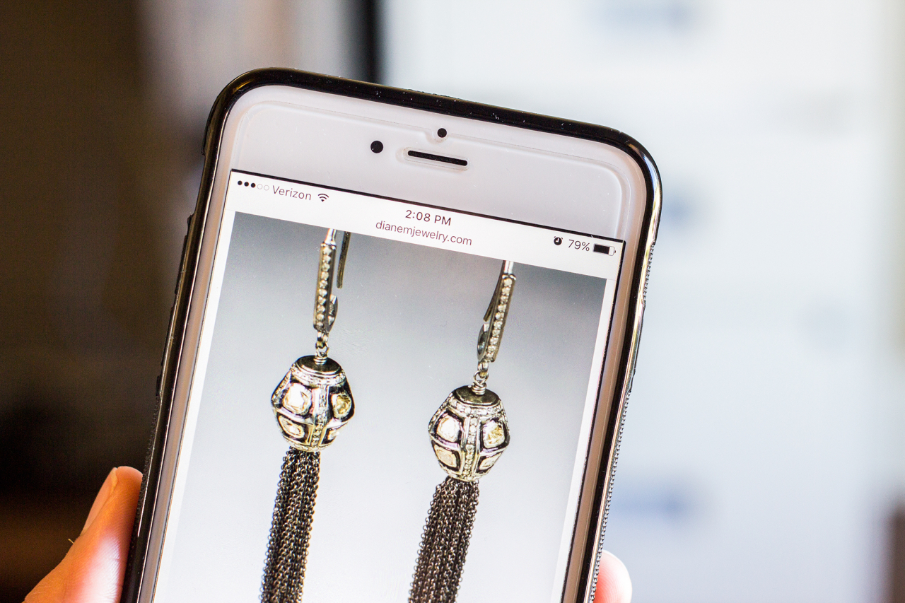 responsive jewelry website