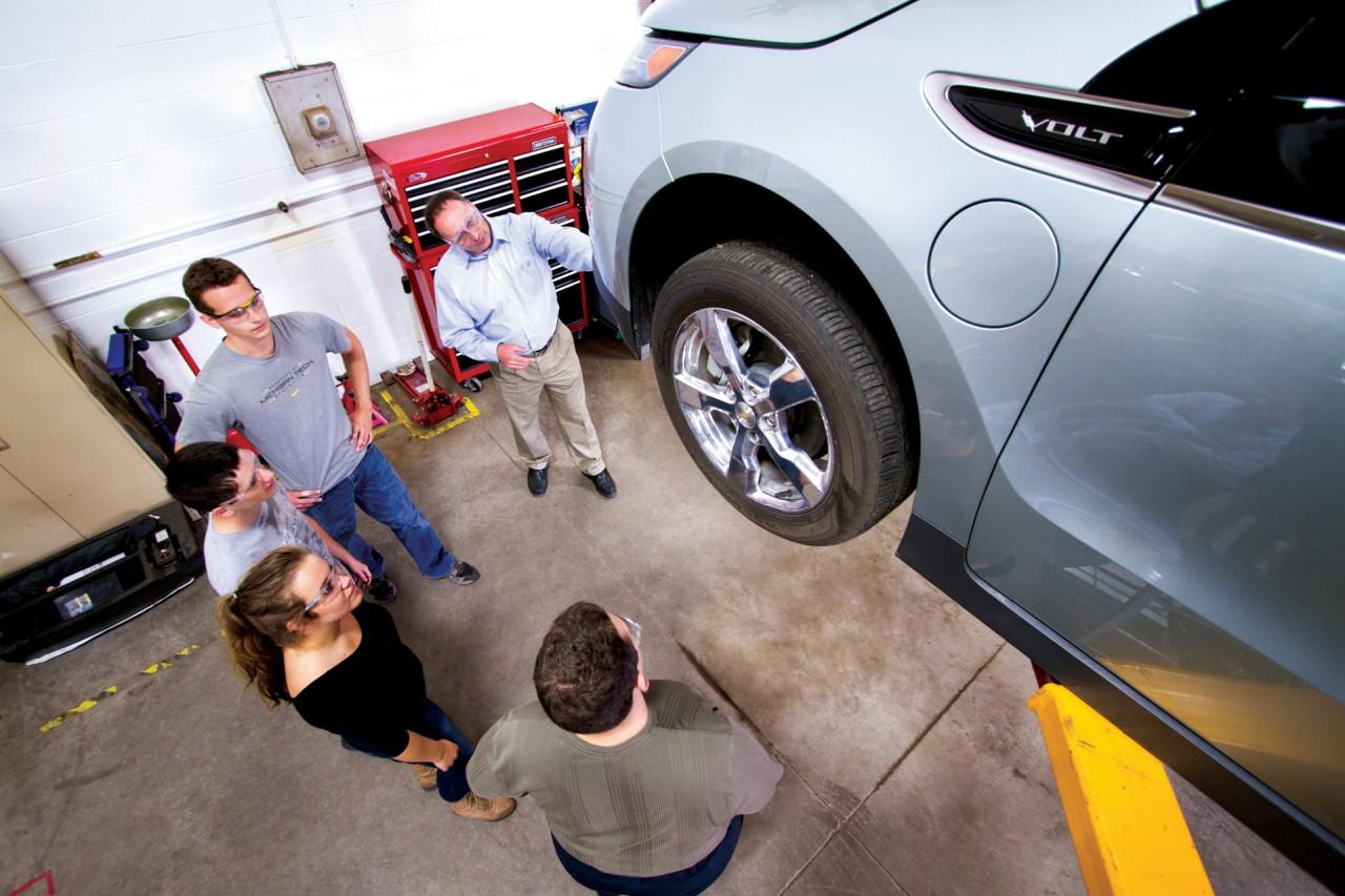 automotive engineering photography