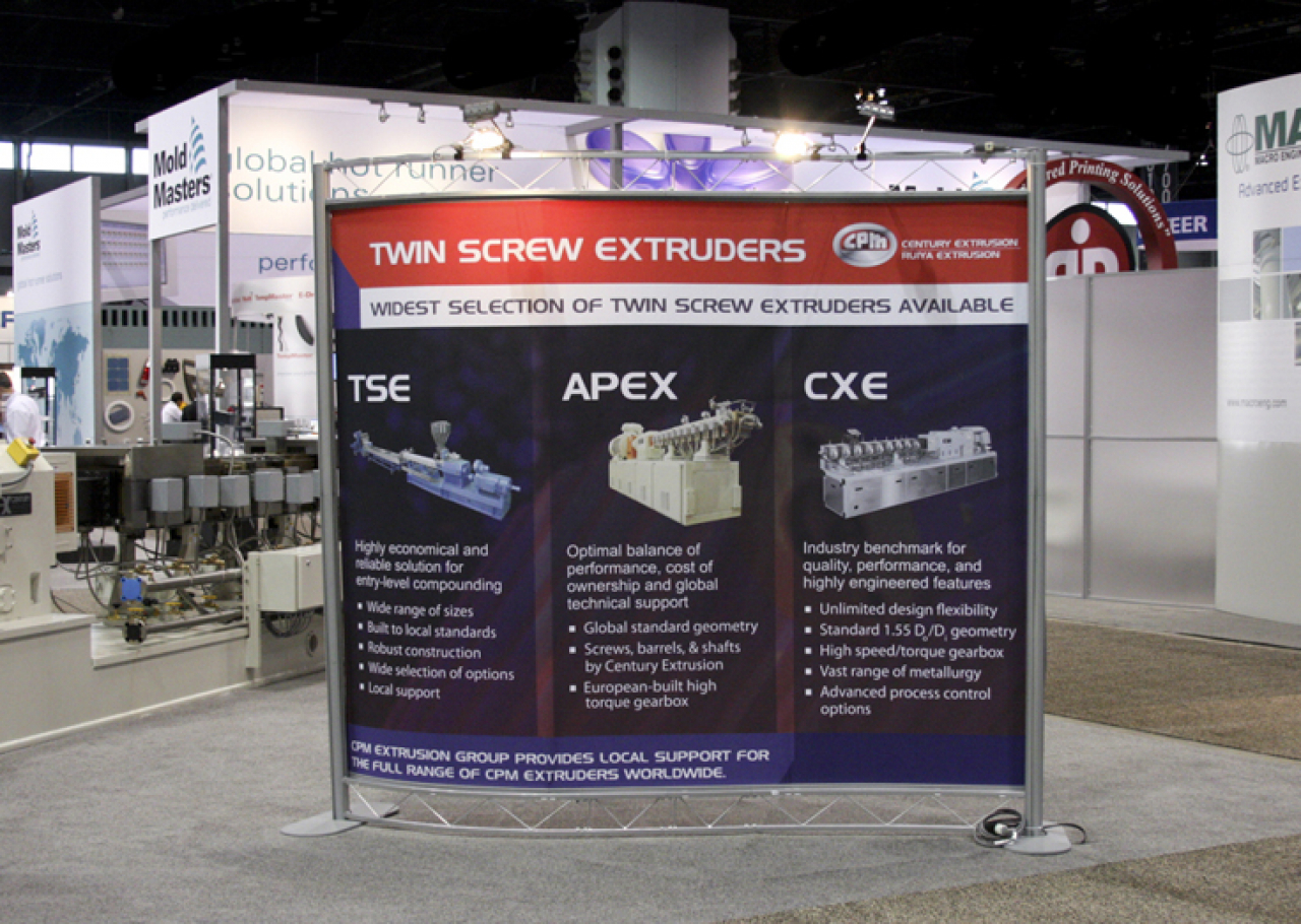 tradeshow booth wall design
