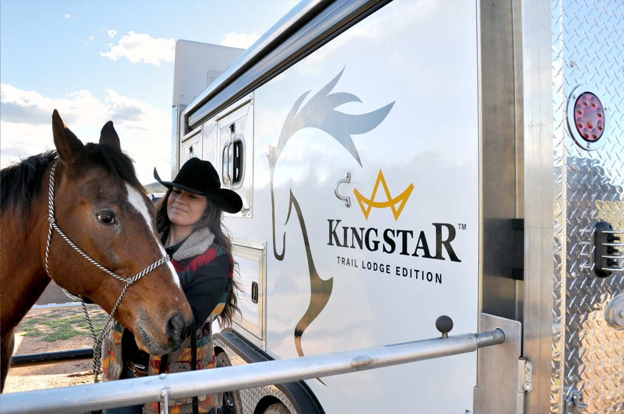 kingstar horse trailer design