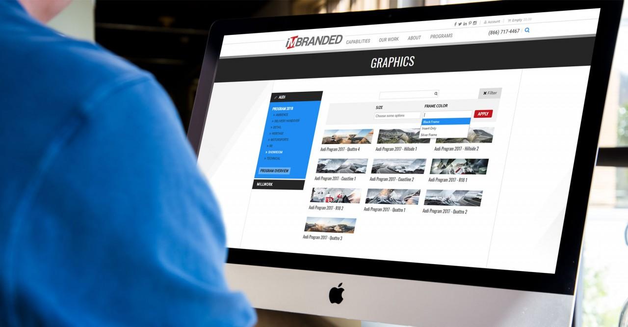 monte audi website design development