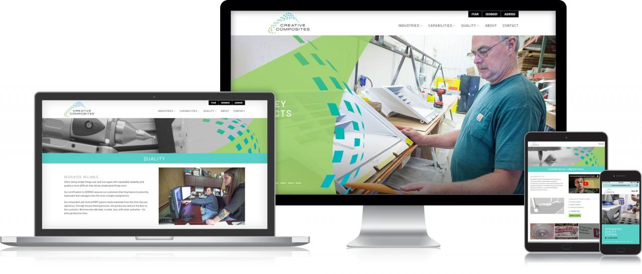 monte logo website design composites