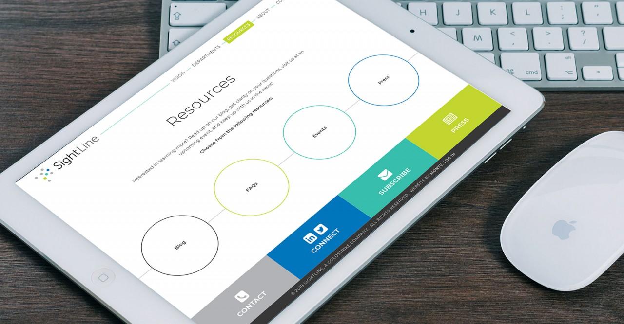 monte responsive mobile friendly website
