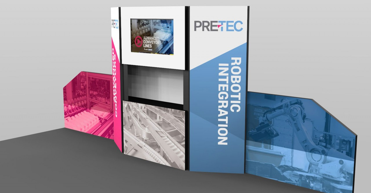 tradeshow graphic design booth