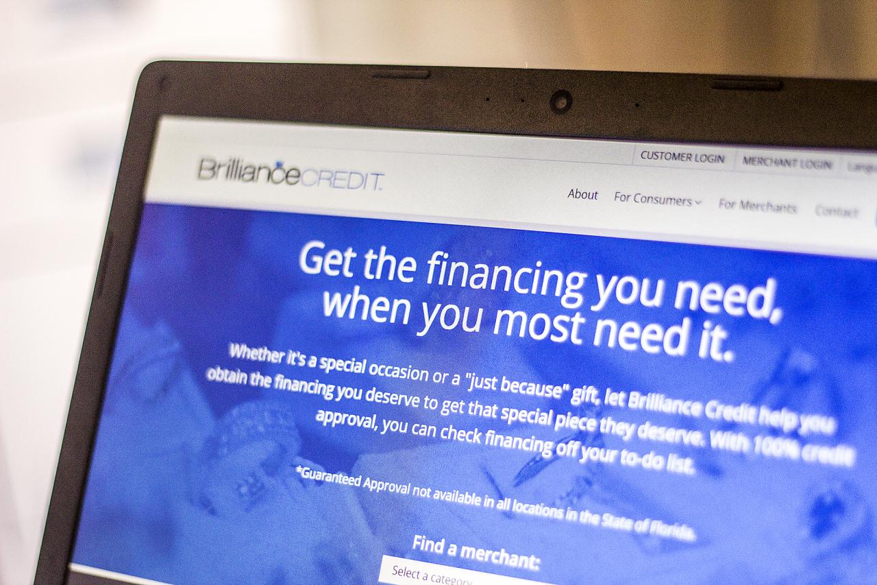 financing website design