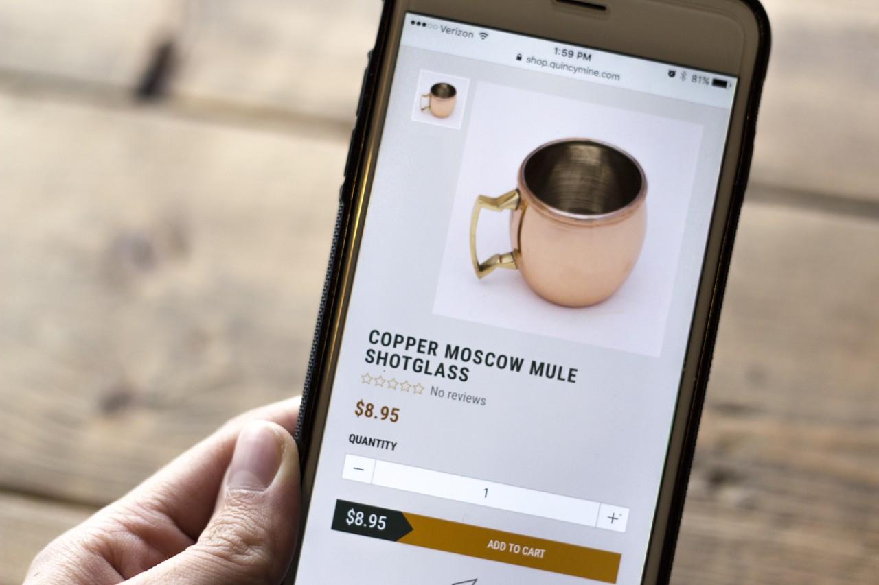 Shopify ecommerce website development