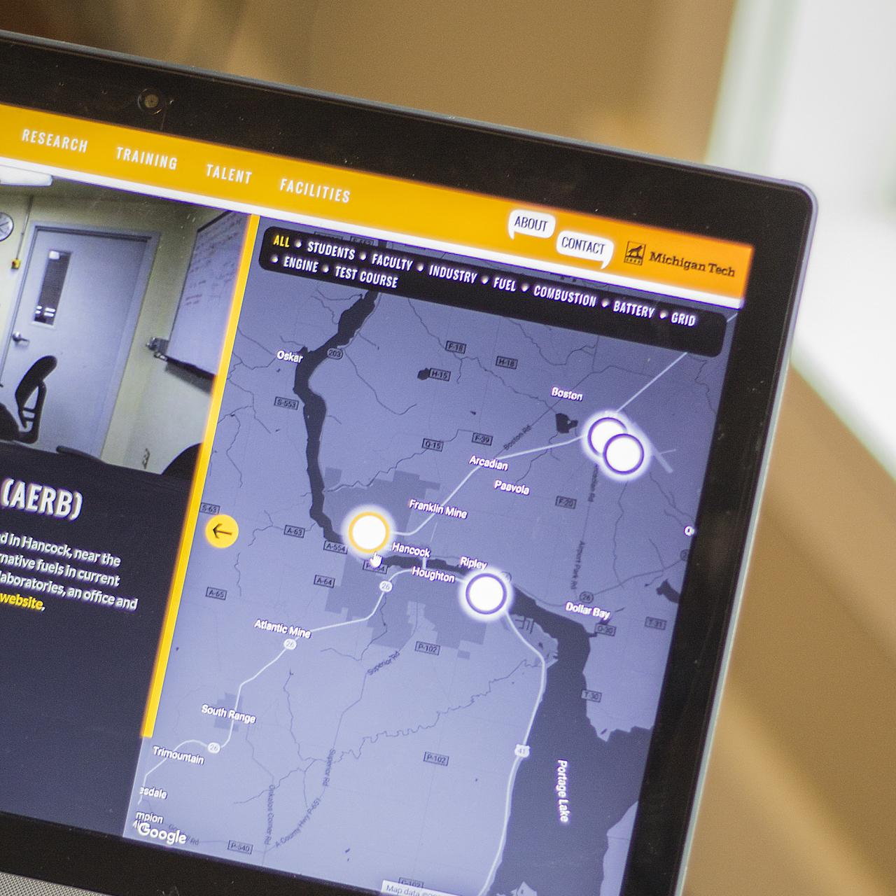 map website