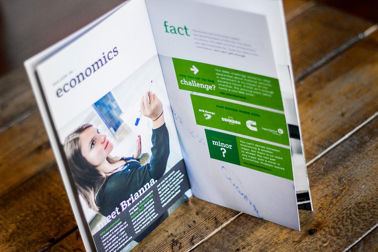 business school brochure design