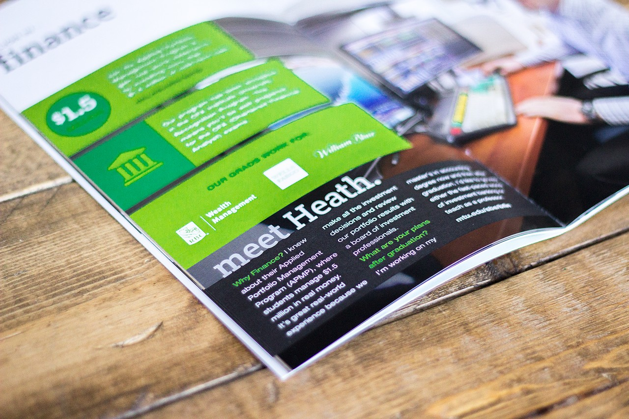 recruiting brochure design