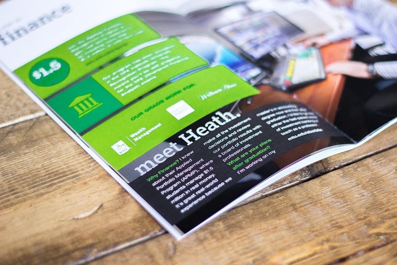 recruiting brochure design