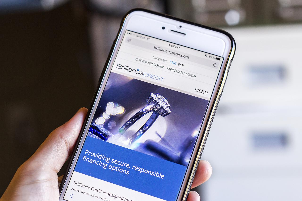 dental jewelry website design