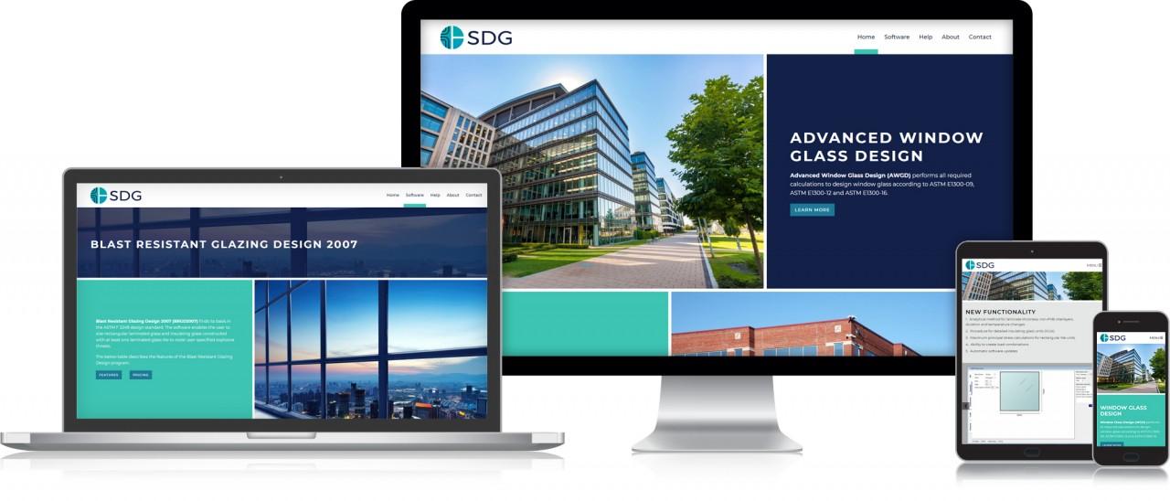 window software website design