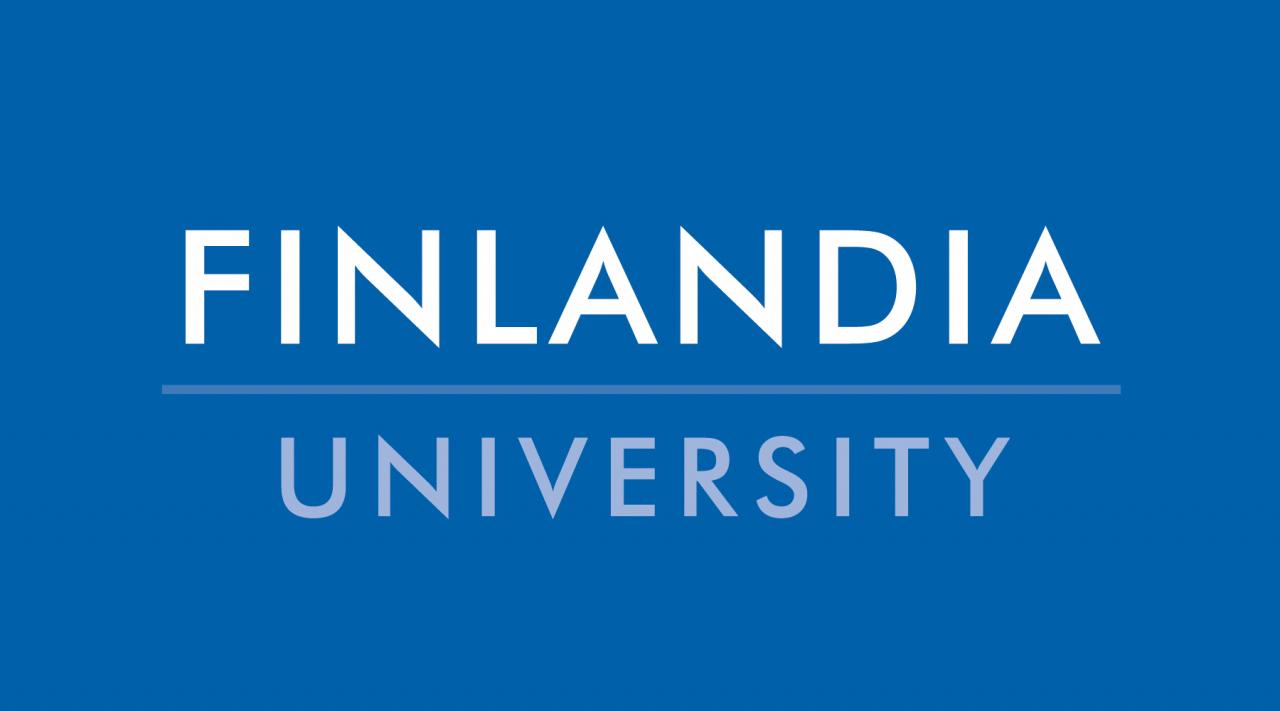 finlandia university logo design