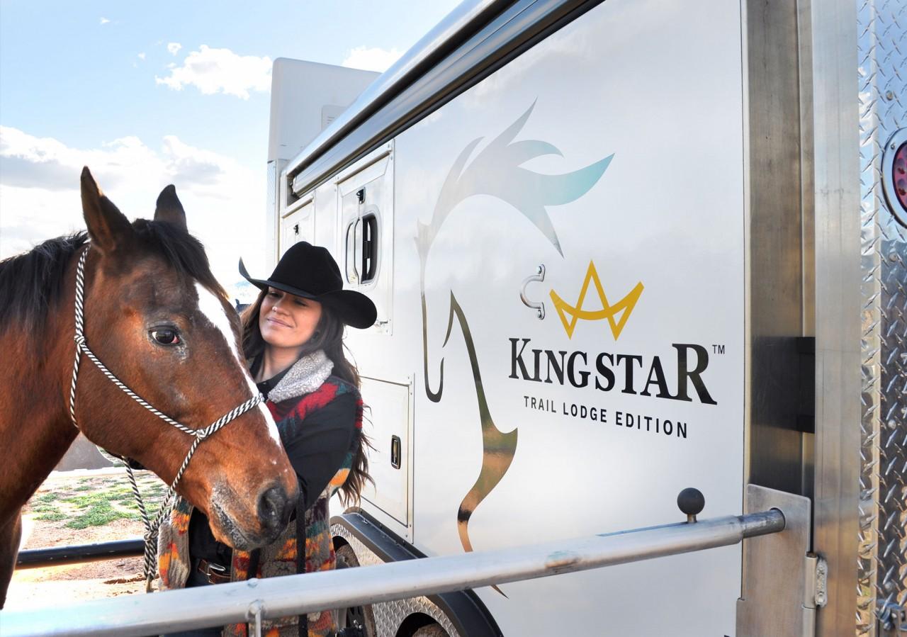 horse trailer graphics