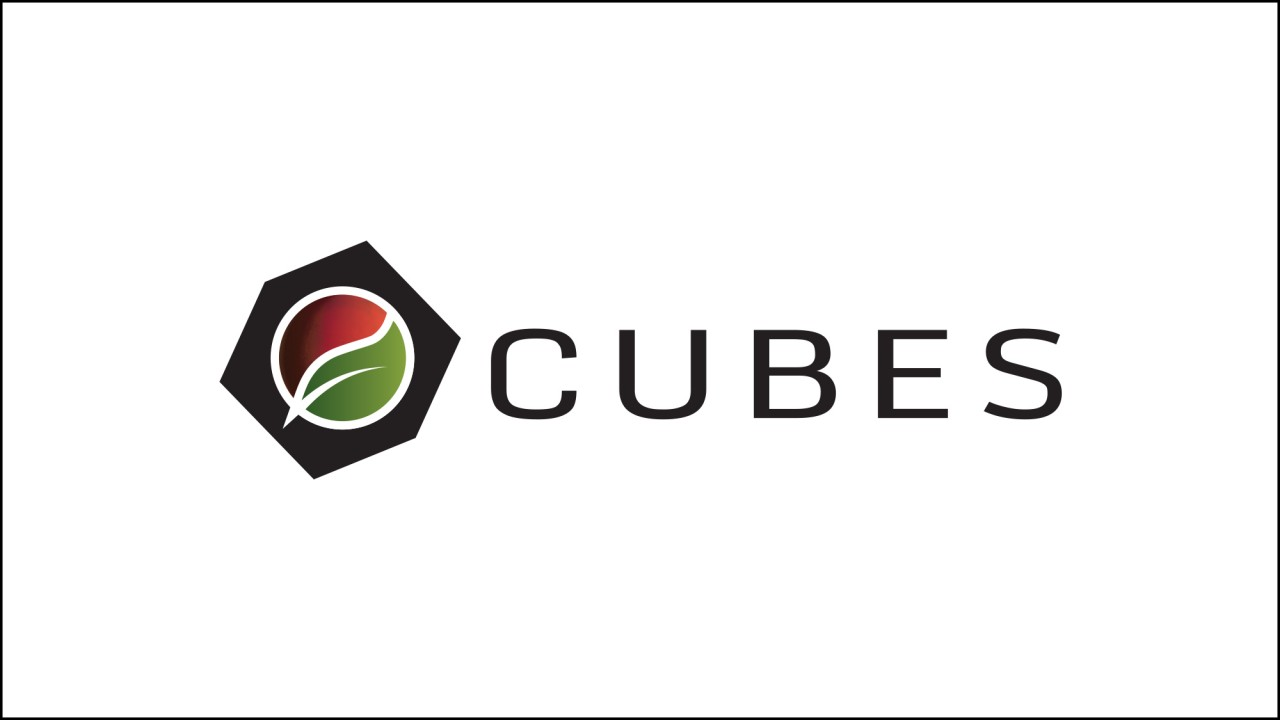cubes logo design mars biology space
