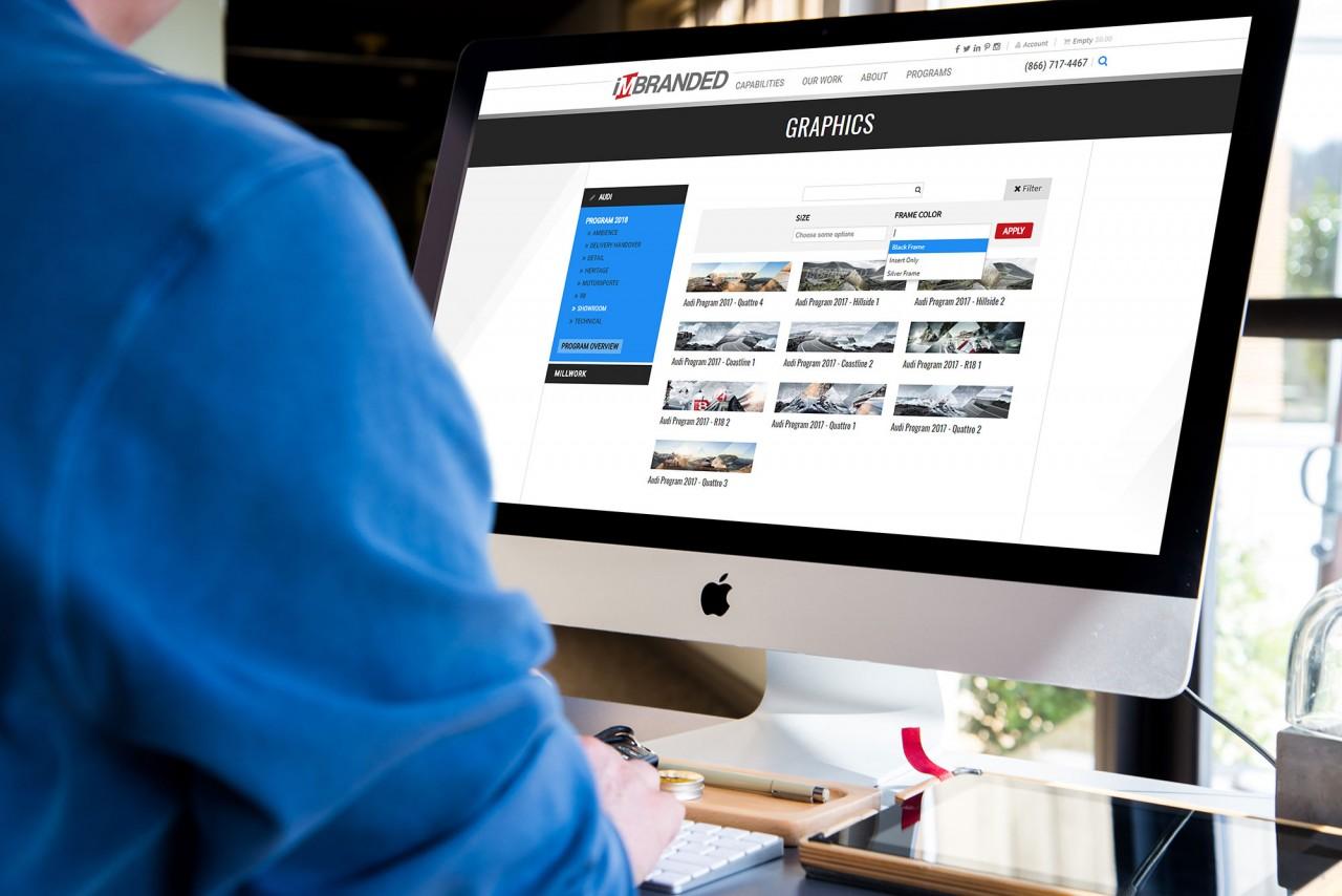 monte custom audi automotive website design dev