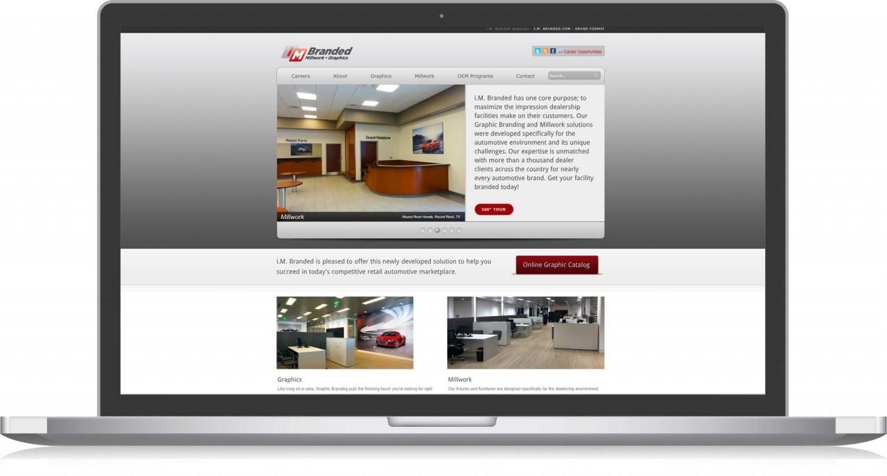 monte custom website design development