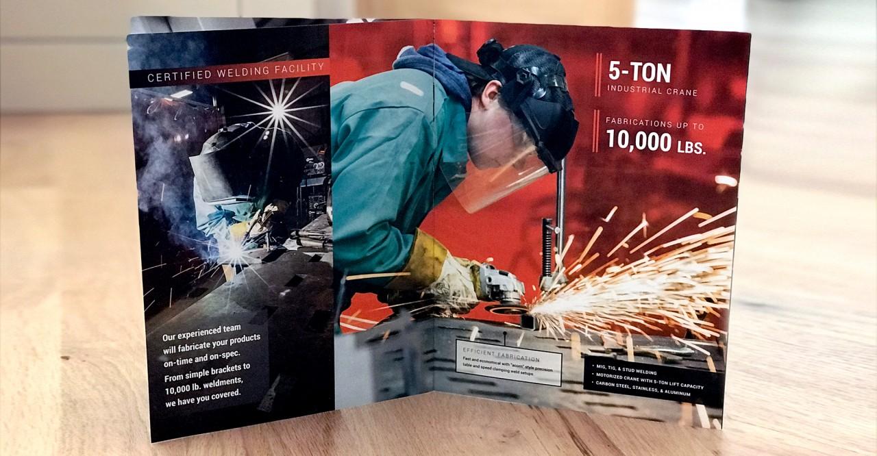 industrial brochure design