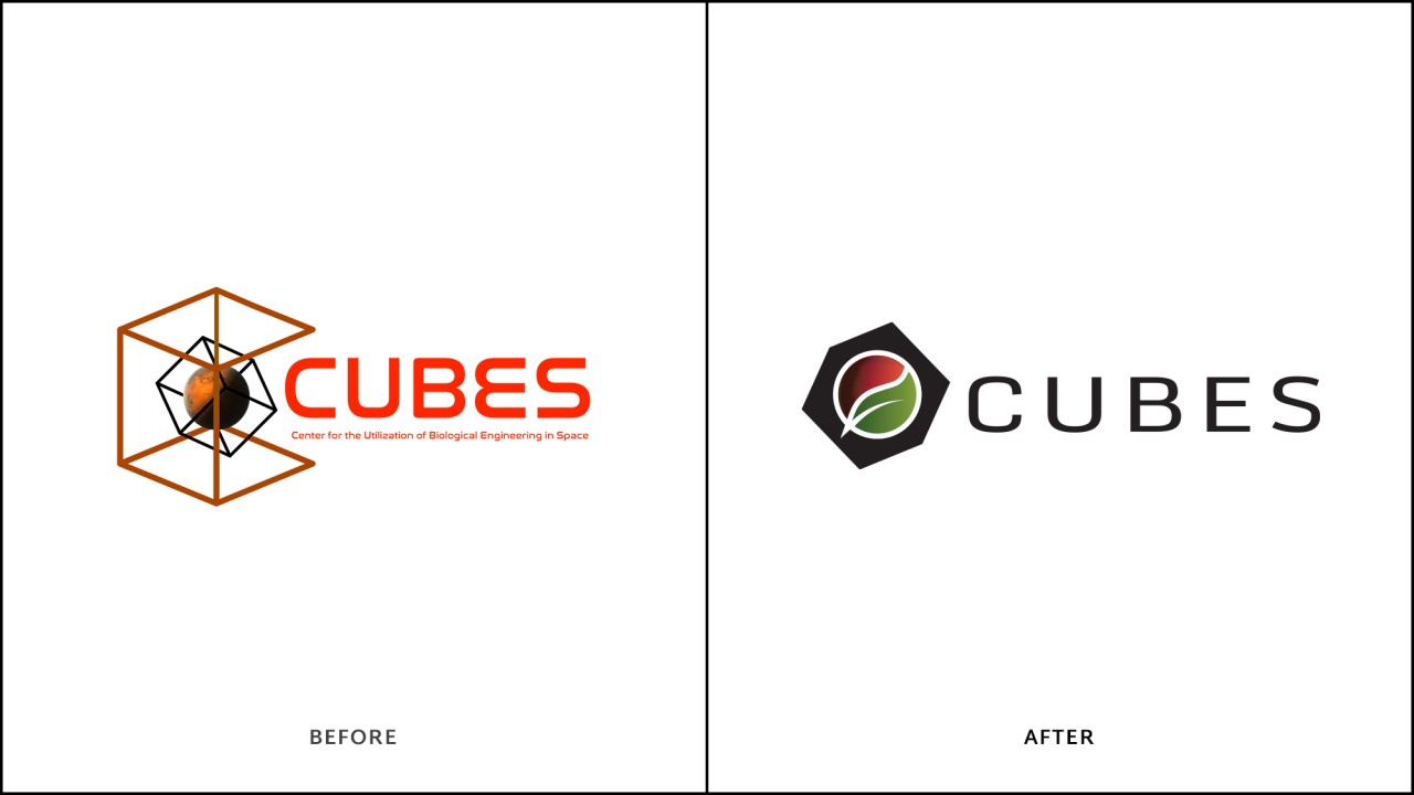 monte logo comparison before after cubes space mars
