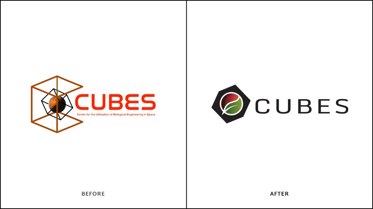 monte logo comparison before after cubes space mars