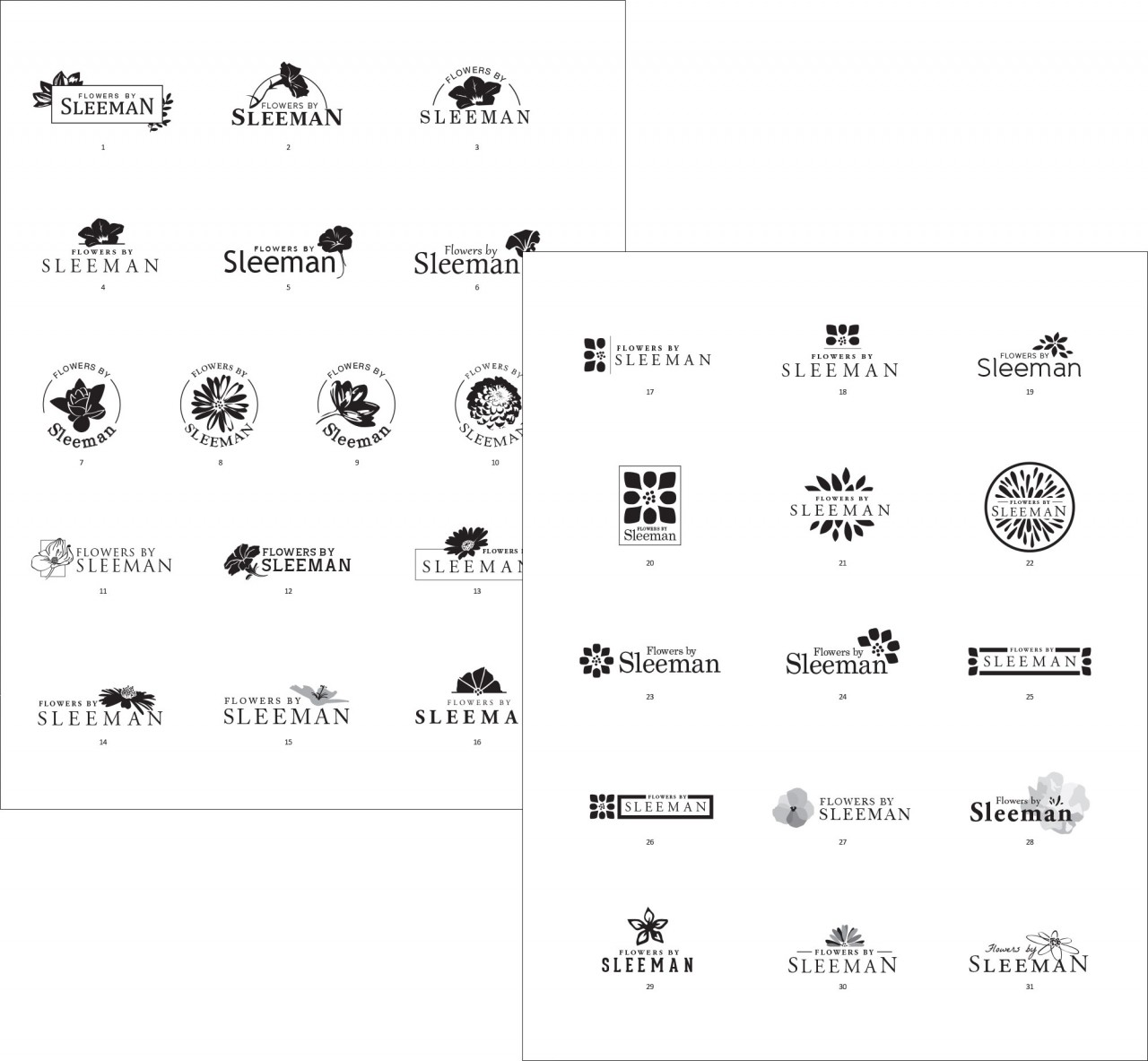 monte logo design