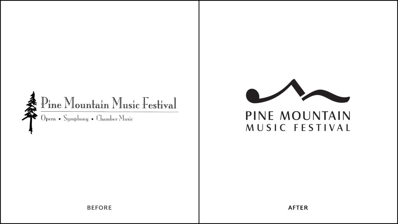 music festival logo design