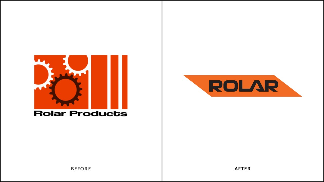 logo design before after