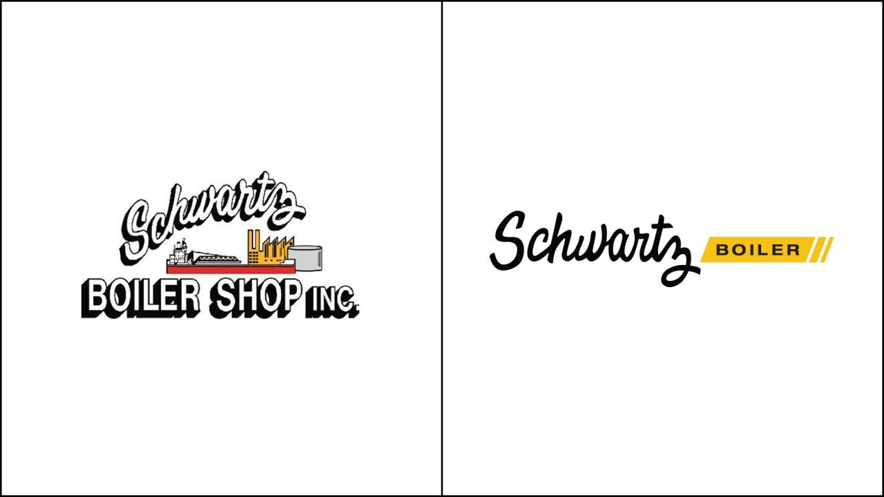 industrial logo redesign