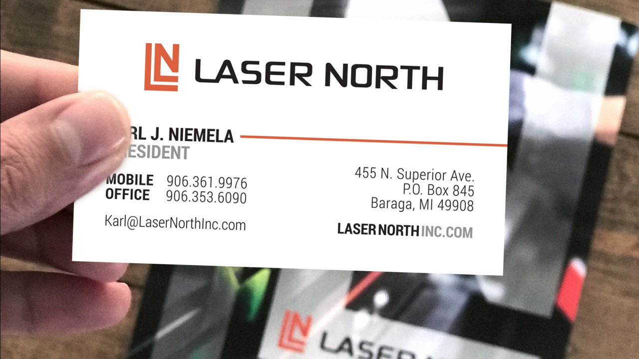 logo design laser north