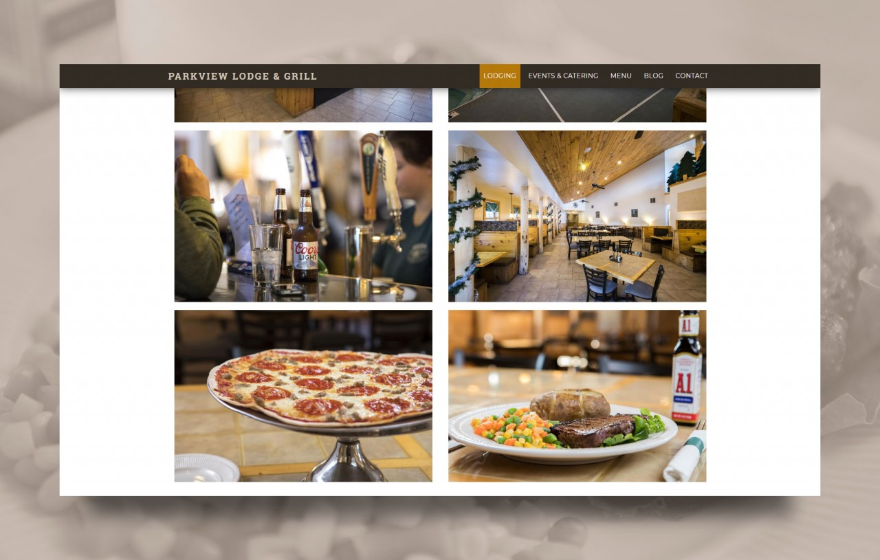 monte photography website design