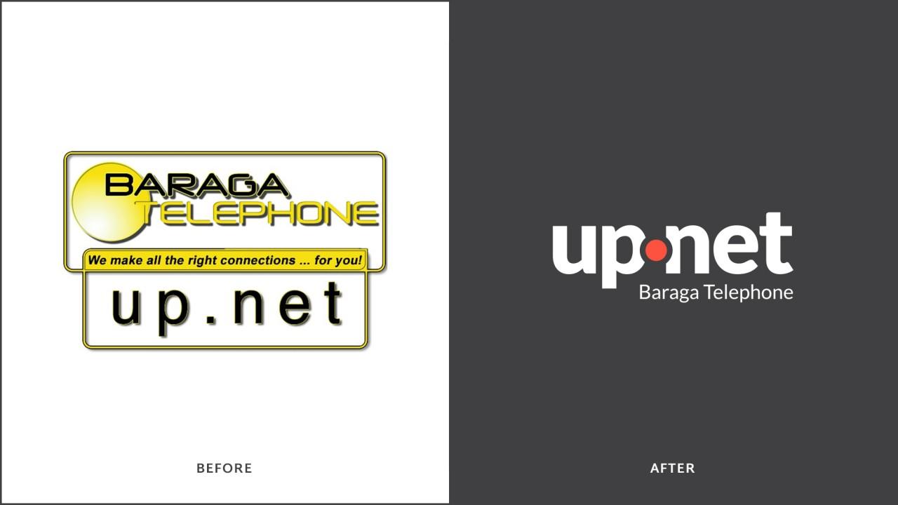 logo design before after