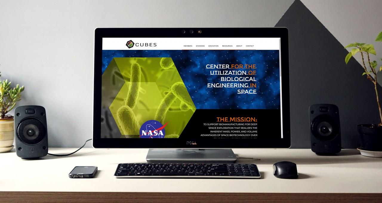 monte website design development space mars