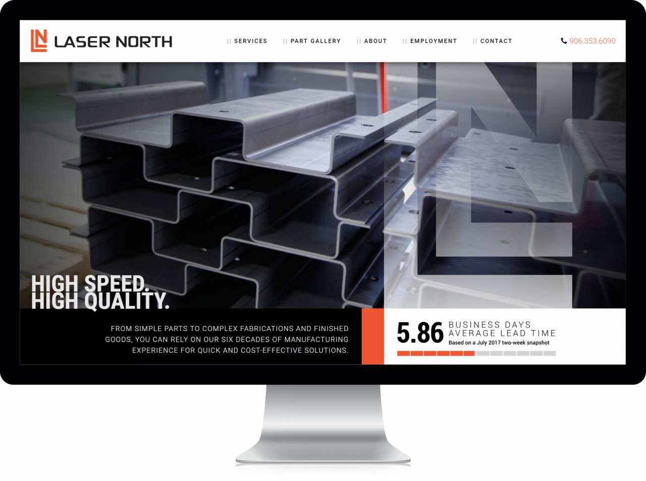 monte website design laser cutting