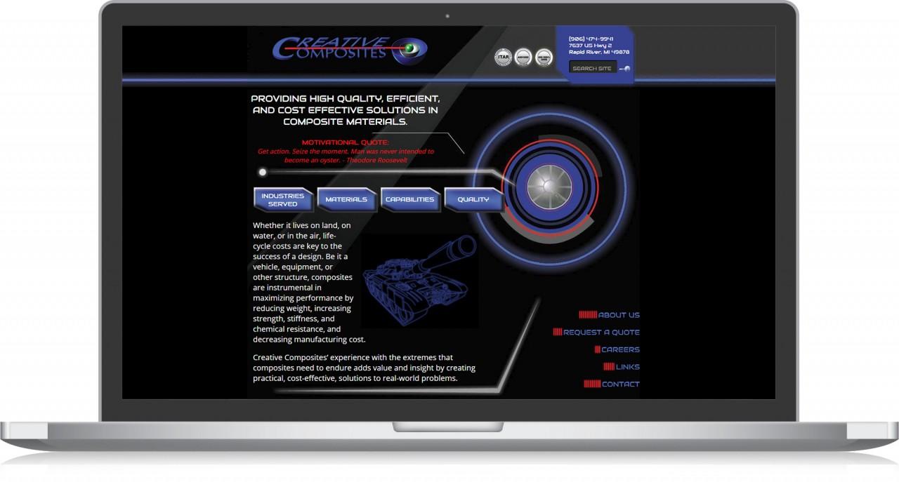 monte website design logo branding before