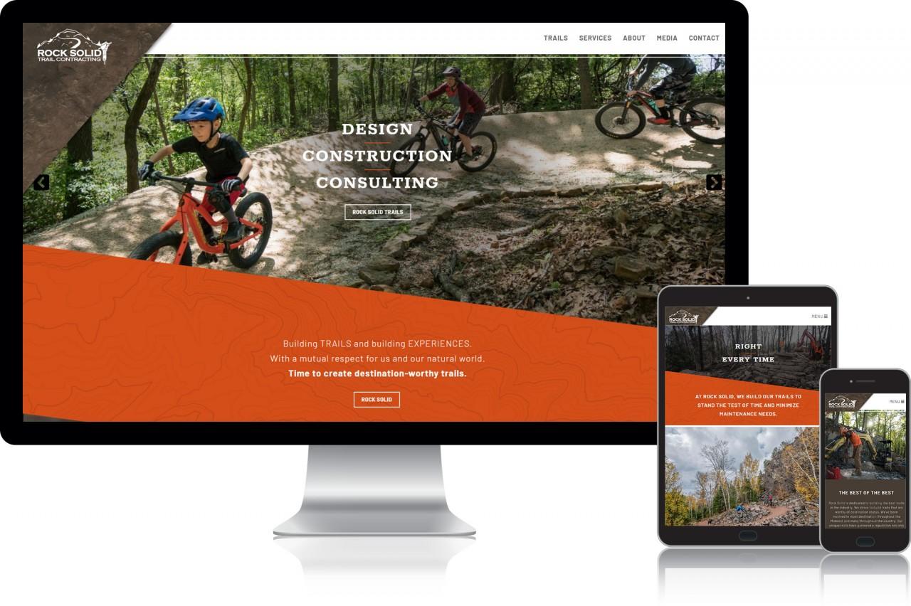 mountain bike trail website