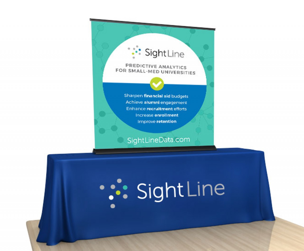 tradeshow tabletop poster