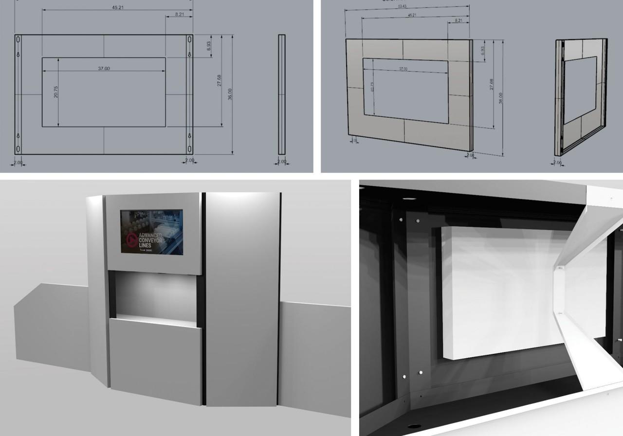 tradeshow CAD drawings 3D models