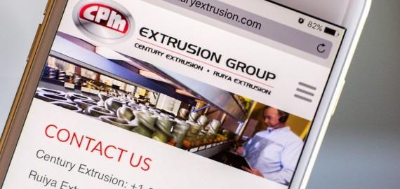 Extrusion Equipment Branding